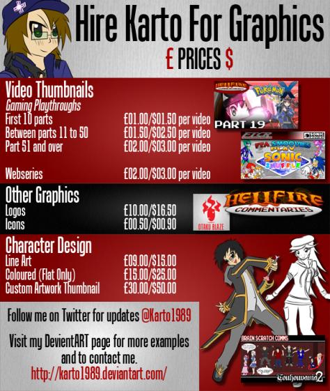Karto Price List